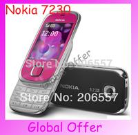 7230 Original Unlocked Nokia 7230 mobile phone 3G Camera Bluetooth MP3 Cheap Cell Phone refurbished 1 year warranty