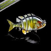 Hot-selling,4colors Fishing bait 8CM/15.5G Proberos style laser  Swimbait fishing lures,4pcs/lot fishing tackle free shipping