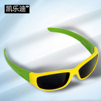 Child polarized sunglasses tr90 baby glasses trend all-match child sun-shading mirror
