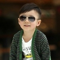 Plushy child glasses male female child sunglasses fashion sunglasses exquisite packaging