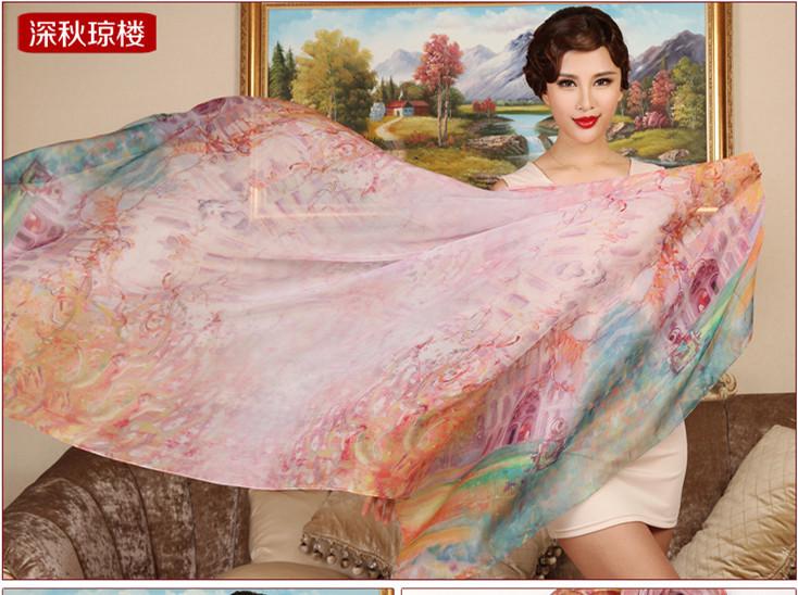 Женский шарф 100% 1,8 , 100%