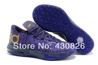 Free Shipping 2014 New Arrive Kevin Durant VI BHM Black History Month Basketball Shoes,KD 6 Shoes,Men Athletic Shoes,Size 40-46