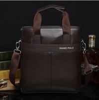 2104 The new men's shoulderbag handbag bag men business leisure satchel trend vertical style