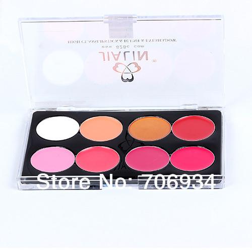 Professional Brand Makeup Matte Lipstick 24pcs 8 colors Dark Purple Palette Waterproof High Quality Lipstick Lip Gloss 15915-8(China (Mainland))