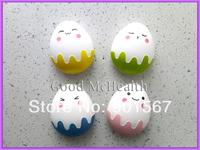 Cute Egg Design Contact Lens Case with Soaking Case Mirror