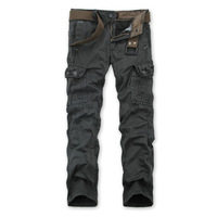 2014 New Outdoors Casual Pants Men's Multi Pockets Cotton Cargo Pants