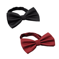 2014 new men's tie Fashion Solid Simulation silk Bow Tie