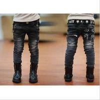 2014 male child jeans boy's  jean cool children's long pant