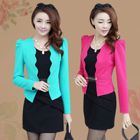 2014 spring women's slim hip basic tank dress twinset long-sleeve autumn and winter one-piece dress