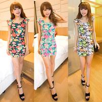 2014 Brand New Vintage Fashion Women's Mini Dress Popular Ladies' Casual Dresses   JH53