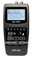 "NEW 2.1"" Satlink Hi-Quality DVB-S WS-6923 Digital Satellite Finder Meter WS 6923 Satellite Receiver  WS6923 Retail & wholesale"