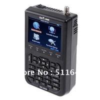 "Free shipping ws 6908 SATlink 3.5"" DVB-S FTA WS-6908 Professional Digital Satellite Signal Finder Meter"