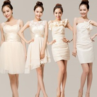 Design bridesmaid dress short dress bridal evening dress banquet