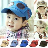 Wholesale - New Kids Qilot base ball baseball hat cap airforce Cosplay Hat Super Mario Cap cap Boys headwear