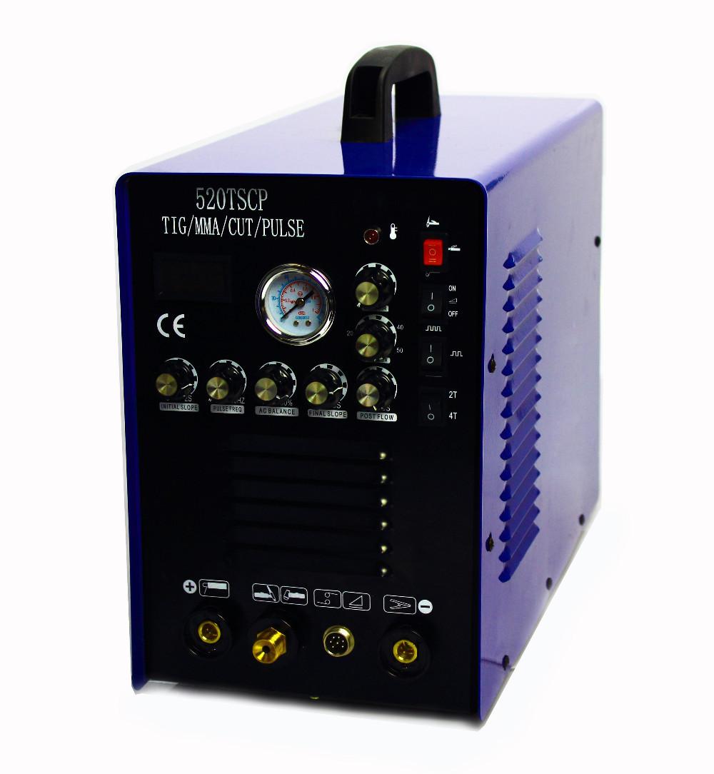 Подробнее о Установка для дуговой сварки L-POWER DC TIG 4 1 520TSCP горелка для tig сварки 4 м dх25 elitech 0606 000700