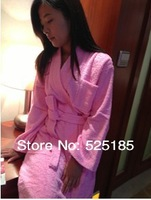 Full cotton terry bathrobe