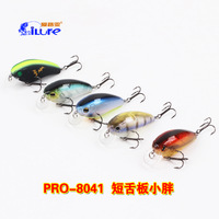 Fishing Lure i Lure  Wobblers Crank Bait 11.4g/56mm VMC Hooks PRO-8038 5pcs/lot Artificical Bait