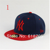 2pcs-Korean Performing Hip-hop hat Flat-brimmed hat Baseball cap Fashion trend men and women hats-finely