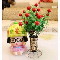 Decorative Flower Artificial Lucky Fruit Rattan Floats Wedding Home Decoration
