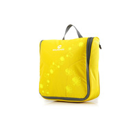 Yellow Large Capacity Portable Travel Toiletry Wash Bag Makeup Cosmetic Hanging Personal Kit Organizer Pouch Case Holder