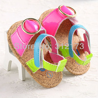 Baby Girl Shoes Sandal Toddler Shoes Children Soft Sole Shoes First Walkers Sandals Summer Footwear 1pair  Free Shipping