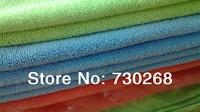 40X40 cm 5 Pcs/lot Microfiber Towel  Car Wash Cleaning Cloth AUTO Polishing Towel