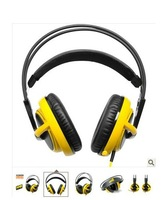 New SteelSeries Siberia V2 Headset for Gamers and Audiophiles Headphone Yellow