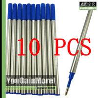 Lot Of 10 Jinhao High Quality Roller Ball Pen Refills Blue Ink