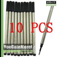 Lot Of 10 Jinhao Roller Ball Pen Refills Black Ink