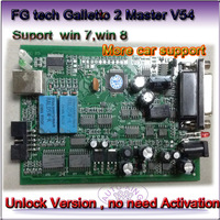 promotion 2014 Latest Version V54 FGTech Galletto 4 Master BDM-TriCore-OBD Function FG  with Multi-langauge