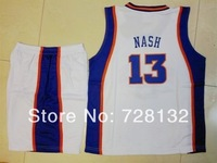 2014 Kids/youth Basketball Jersey The SUNS #13 Steve Nash Child Basketball Jersey Uniform,13/14 children basketball jersey Kits