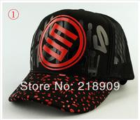 colorful-Korean version of the mesh cap man woman van cap Truck cap sun hat Summer lovers hat
