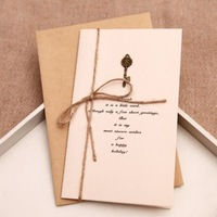 Vintage Style greeting card 10pcs/set send random