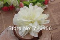 Free Shipping  (40pcs/lot) Tulle Soft Silk Flowers Baby Headband Accessories Fold Headdress Flower Flat Back