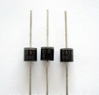 Free Shipping 200pcs 10A10 10 Amp 1000V 10A 1KV Axial Rectifier Diode 22A MIC brand