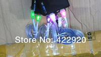 Flashing smile LED Cable Light Charger Data Sync  For IOS 7 iphone 5 5C 5S ipod Touch 5 Nano 7 ipad Mini ipad 4