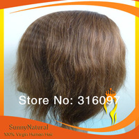 2014 Hot sell 100% human hair Straight Chinese Hair Full Lace Wig