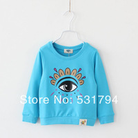 2014 Hot Sale Spring New Terry Cotton T-shirt Boys And Girls Bottoming Shirt Shirt For Children