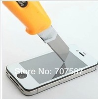 0.33mm For iPhone 4/4s Tempered glass membrane explosion-proof glass membrane tempered protective film membrane 2 PCS/LOT