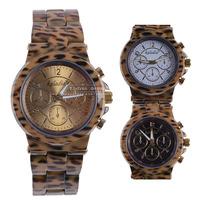 Top Quality Women Leopard Print Quartz Wristwatches Ladies Dress Watch,Fashion Stylish Ceramics Watchband,Free Shipping