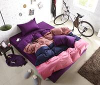 2014  Latest Fashion Multicolor Bedding Set  100% cotton 4pcs Linen  reactive dyeing ,no fade,no pilling ,Full/queen/king