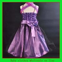 Girls princess dress baby dresses party baby summer dress wedding children dress 5 pcs wholesale