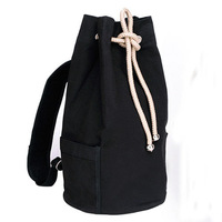 Free Shipping Canvas Bucket Bag Brief Boy School Canvas Bag Hiking Ttravel Backpack KL-035
