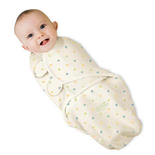Swaddleme summer organic cotton infant parisarc newborn swaddle blanket baby()