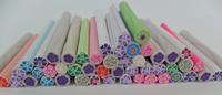 100pcs  rose nail Fimo Canes Rods Sticks Sticker DIY Slice Tips Decoration Tips FREE SHIPPING