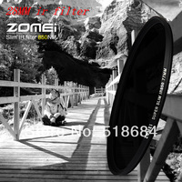 Wholesale ZOMEI 28mm Slim IR Filter 850nm Infrared Infra-Red for DV DSLR SLR Filters Optical Glass Camera Digital Accessories