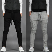 new arrival casual pants,mens fashion sport trousers,leisure cotton sweatpants,solid color desgin long pants M-XXL Free Ship