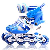 Skating shoes child set full adjustable skating shoes inline skate shoes roller skates