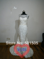 2014 Hot Sell Wedding Dress Free Shipping 100% Same As Picture  --- SW0002