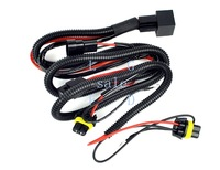 Car HID Xenon Wiring Extension Conversion Kit Relay Wiring Harness Free Shipping 8288
